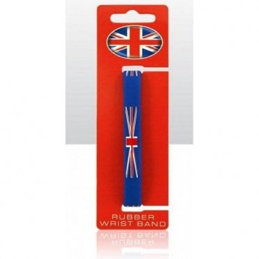 Union Jack Silicon Wristband