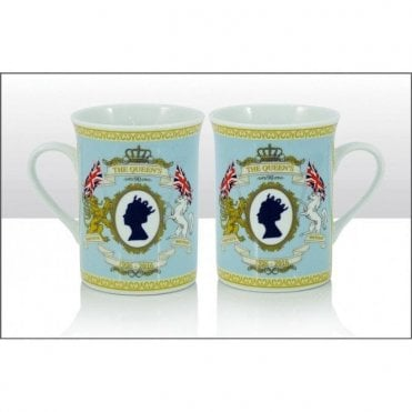 HRH The Queens 90th Birthday Collectors Mug
