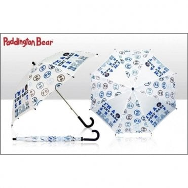 Child's Paddington Bear Umbrella - I'm a Very Rare Sort of Bear Design