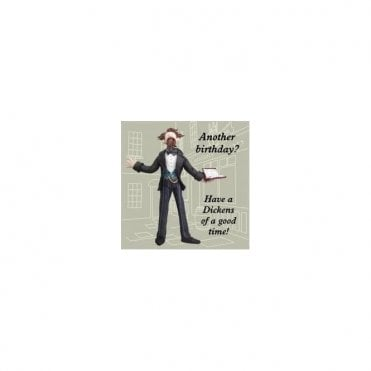 Charles Dickens Humourous Birthday Card