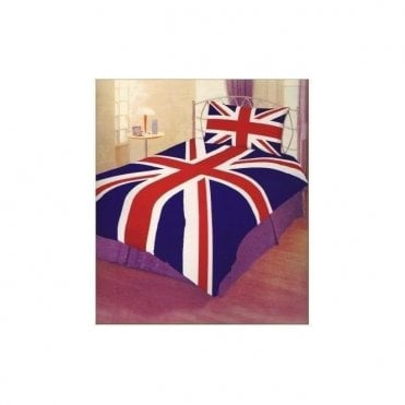 Union Jack Single Duvet cover set - Slight Flaws