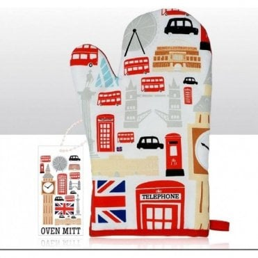 Icons of London Oven Mitt