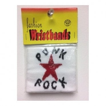 Punk Rock Wristband/Sweatband