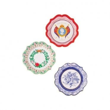 Pack of 12 Celebrate Britain Party Plates