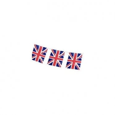 Union Jack Rectangular Bunting 12ft