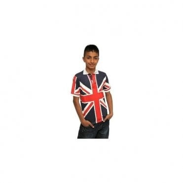 Kids Union Jack Polo Shirt