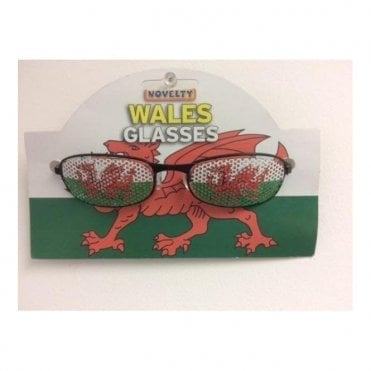 Welsh Dragon Fancy Dress Sunglasses