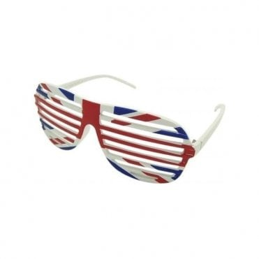 Union Jack Slatted Sunglasses
