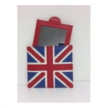 Travel Mirror in Union Jack wallet