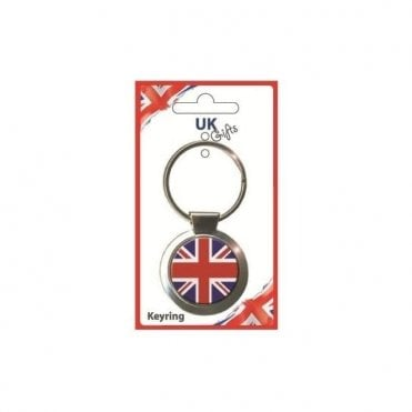 Brilliantly British Union Jack Keyring