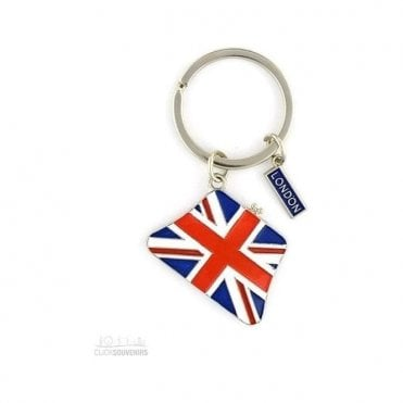 Union Jack Purse Keyring