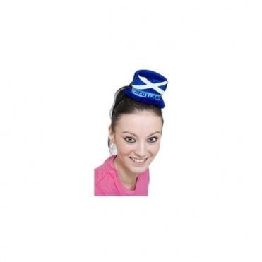 Funky Scottish Saltire headgear