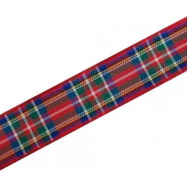 Royal Stewart Red Tartan Ribbon