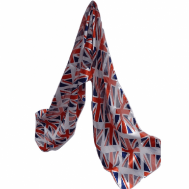 Union Jack Scarf - small Flags