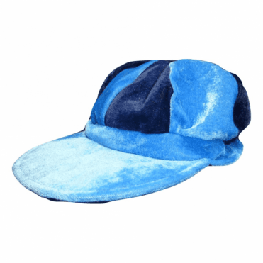 Navy & Light Blue Baker Boy Hat