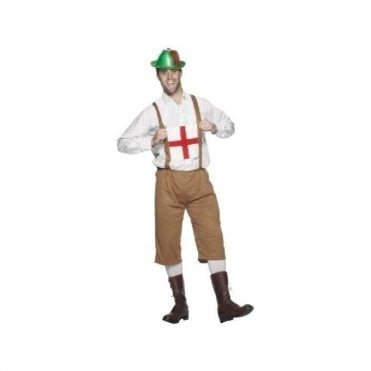 St George Lederhosen . ENGLAND Football