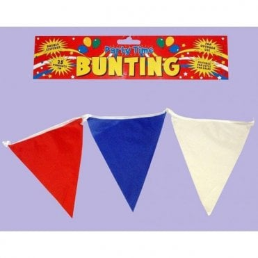 Red-White-Blue Bunting 7m