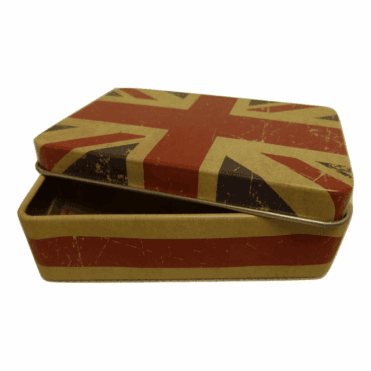 Union Jack Tin Gift Box