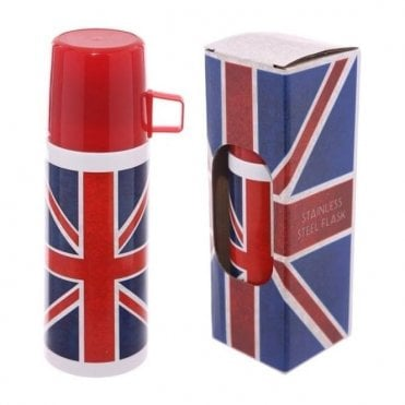 Union Jack Stainless Steel Flask