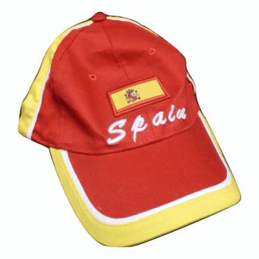 Spanish Flag Baseball Cap