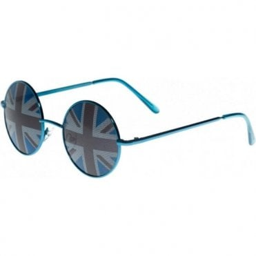 Round Union Jack Sunglasses