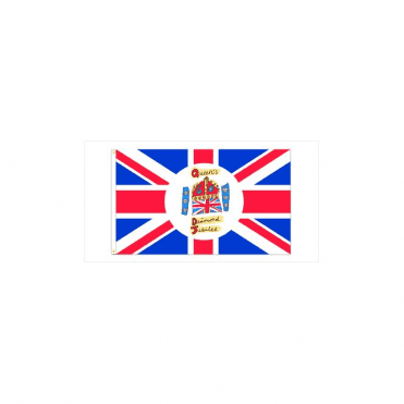 Queen's Diamond Jubilee Hand Flag 2ft