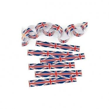 Union Jack Paper Chain Kit