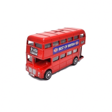 London Bus Money Box 11.5cm long