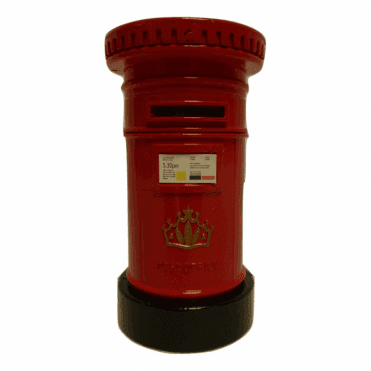 Post Box Money Box Die Cast