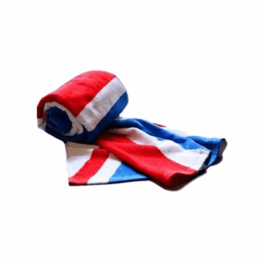 Traditional Union Jack Beach Towel