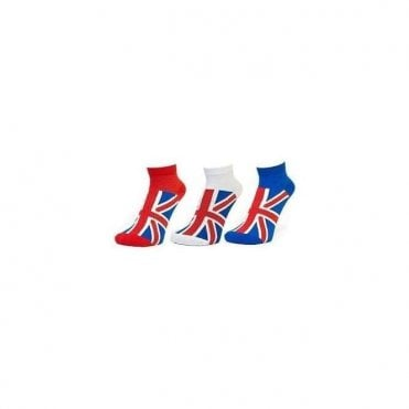 Union Jack Ladies Sports Socks