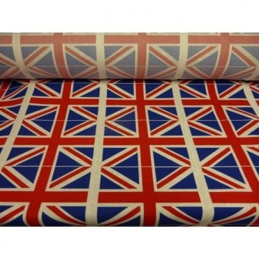 Union Jack Twill Fabric