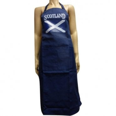 Scotland Flag Apron