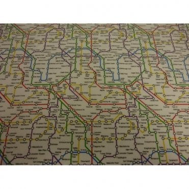 London Underground Fabric