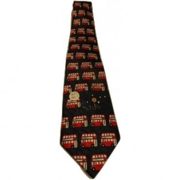 London Bus Silk Tie