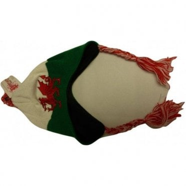 Welsh Dragon Peruvian Style Hat