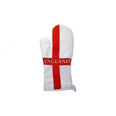 England St George Flag Oven Glove