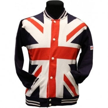 Union Jack Baseball Jacket - Unisex