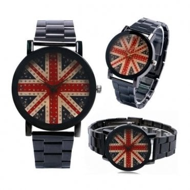 Union Jack Stainless Steel Watch