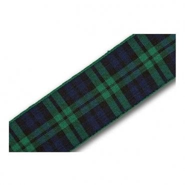 Green/Blue Tartan Ribbon