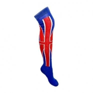 Union Jack Ladies Long Socks