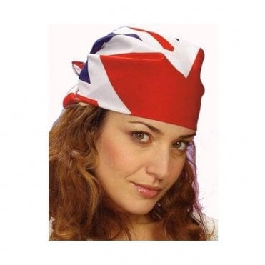 Union Jack Bandana - Head Covering or face covering