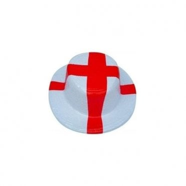 England St George Cross Boater Hat 4 Pack