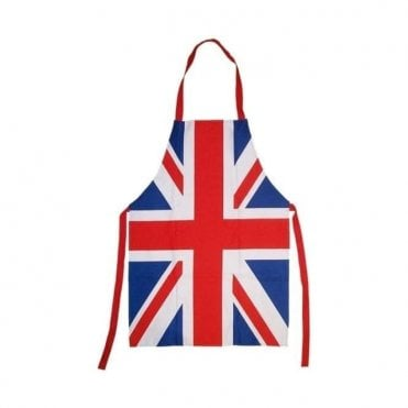 Union Jack Cotton Apron
