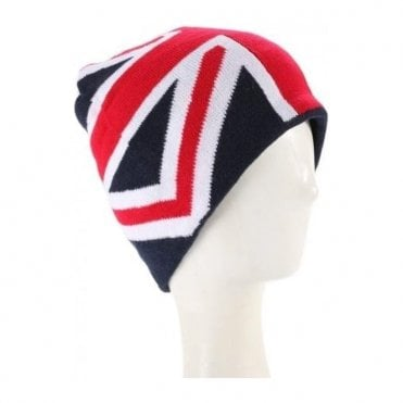 Union Jack Flag Beanie Hat