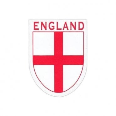 England St George Cross Shield Sticker