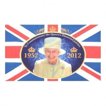 Queen's Diamond Jubilee Flag - available in 2 sizes