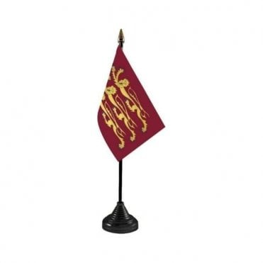 Richard Lionheart Table Flag
