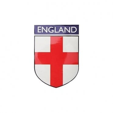 Magnetic England Car FLag - Shield