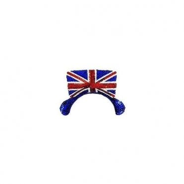 Union Jack Sequin Tiara